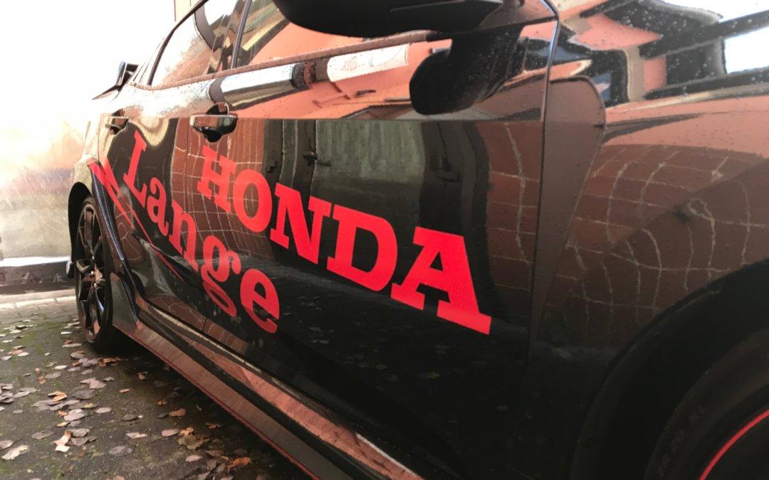 Der Kofferraum des Honda Civic Type R