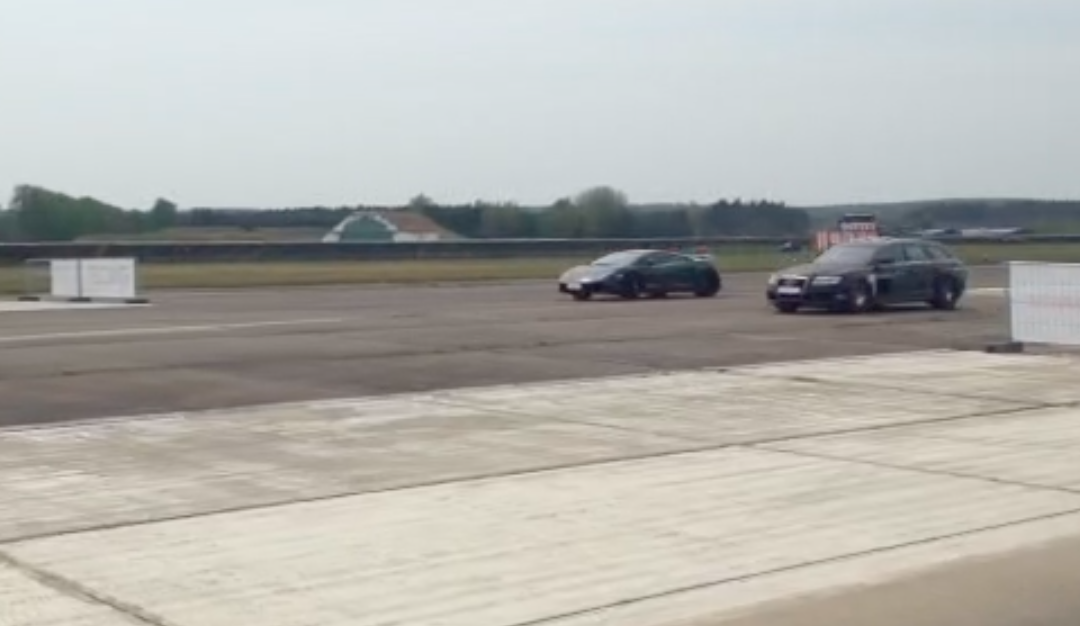 RS6 Vs. Lamborghini wer wird wohl gewinnen?
