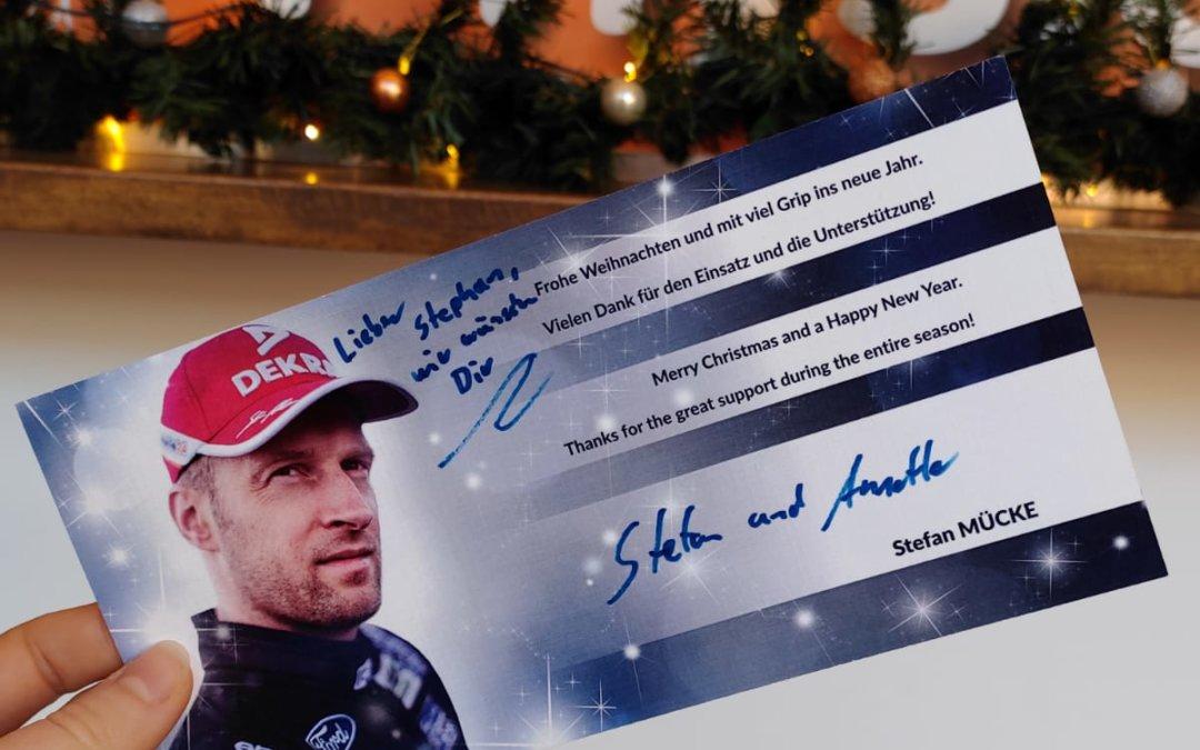 Weihnachtsgrüße von Mücke Motorsport