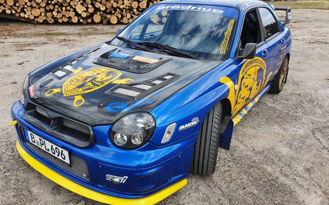 Fertigstellung des Subaru Impreza WRC STI Prodrive