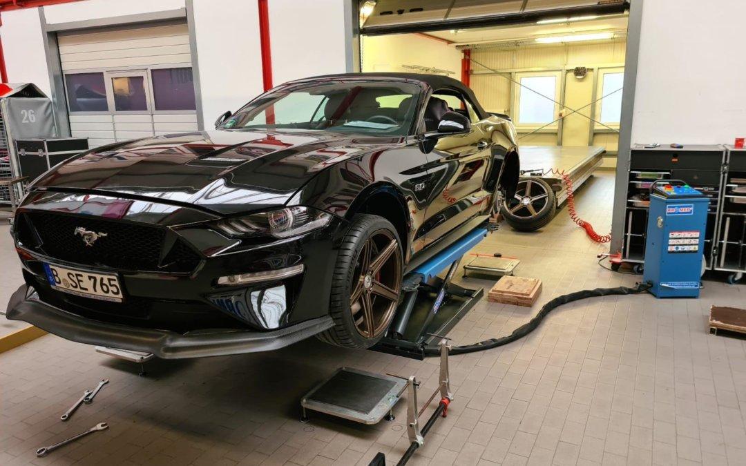 Der neue Ford Mustang GT Cabrio
